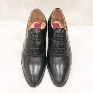 Revelo Shoes - Revelo Oxford Lace Up Leather Dress Shoes